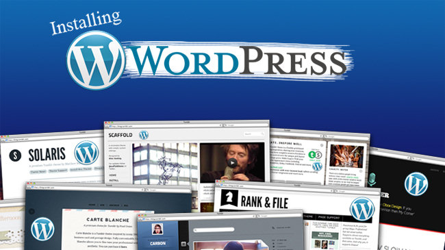 InstallingWordpress 1
