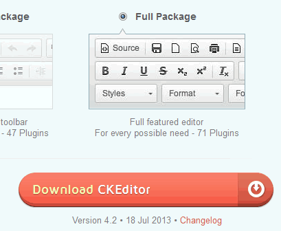 download-ckeditor-full-package